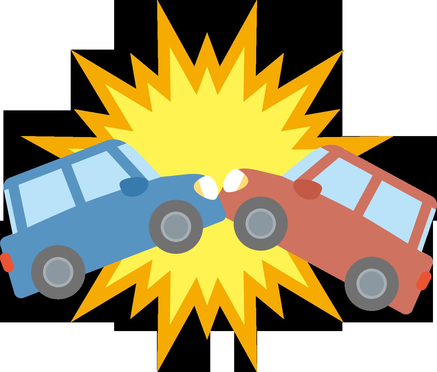 事故のイラスト
